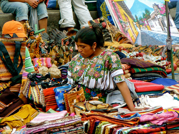 Traditional craft seller
