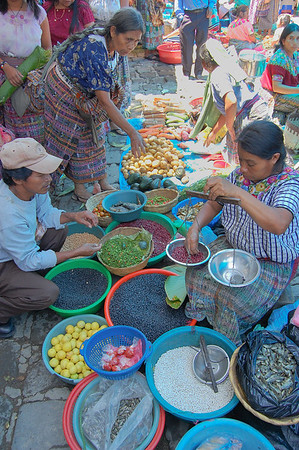 Local market in San Pedro Atitlan