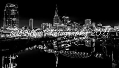 Nashville Night B&W Edition
