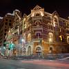 Exterior of the Driskill Hotel in Austin, TX.<br /> 3 image HDR