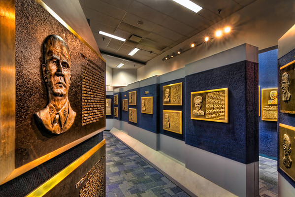 Naval Aviation Hall of Honor<br /> The Naval Aviation Hall of Honor at the National Naval Aviation Museum recognizes individuals for extraordinary achievements in Naval Aviation including Navy, Marine Corps, Coast Guard and civilian.<br /> There's even a pilot there named George H. W. Bush that you might recognize.