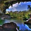 Hamilton Pool - no waterfall