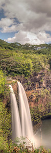 Second Wailua Falls Panoramic