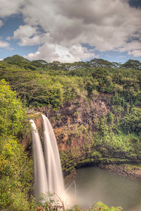 Second Wailua Falls