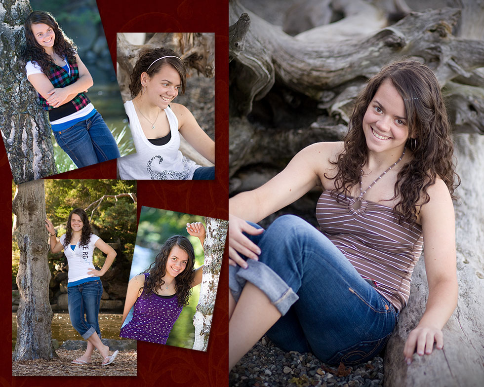High School Senior Portrait by Kazuko Wohlers, K's Photography serving University Place, Tacoma, Seattle, Olympia, Lakewood Area