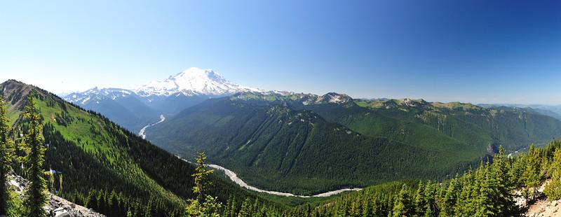 Mt Rainier Panos