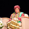 A Conversation with Her Excellency President Ellen Johnson Sirleaf President of Liberia With Cheryl Wills NY1 News Anchor