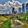 Houston Skyline/Tiny Boat