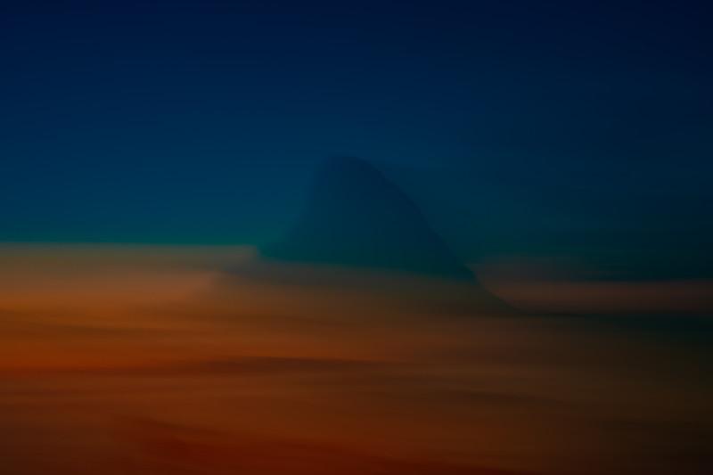 Bleiksøya solnedgang