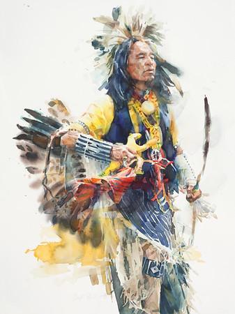 Powwow—Man