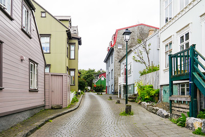 The Historic District in Reykjavik