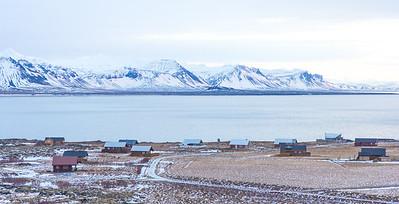 Icelandic village. Arnarstapi.