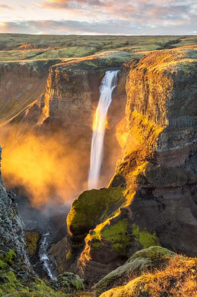 Golden Mist of Háifoss