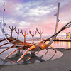 Sun Voyager at Sunset