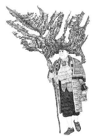 Untitled / ink on paper (unframed) / 42cm x 29.7cm / original £100 / image 0098