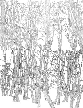 Epping (Version 2.0) / ink on paper (unframed) / 84.1cm x 59.4cm / original £450 / image 0471