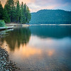 Summer Sunset over Lake Siskiyou
