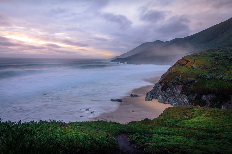 Misty Big Sur Coast