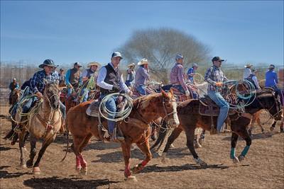 Ropin' Warmup - Rancho Rio - Wickenburg, AZ.