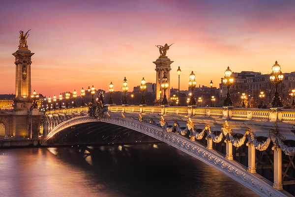 Pont Alexandre III - Paris, France
