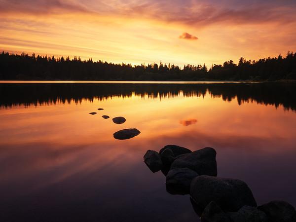 Lac de Servière, France