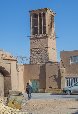A persian windcatcher, Yazd