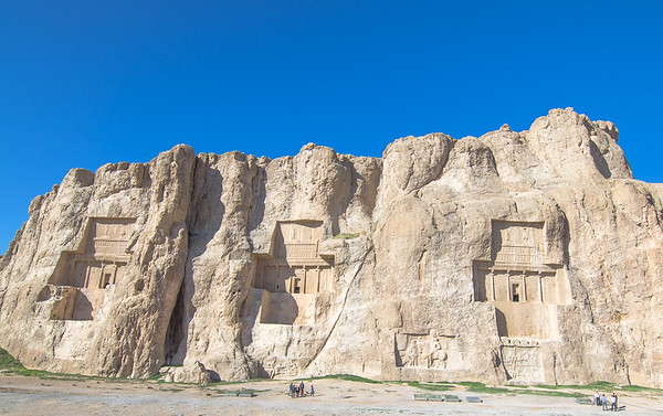 Naqsh-e Rustam colossal tombs of Persian kings