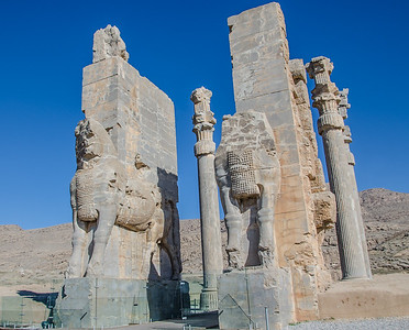 The Gate of All Nations of Xerxes palace, Persepolis