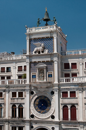 Clock Tower in San Marco Piazza