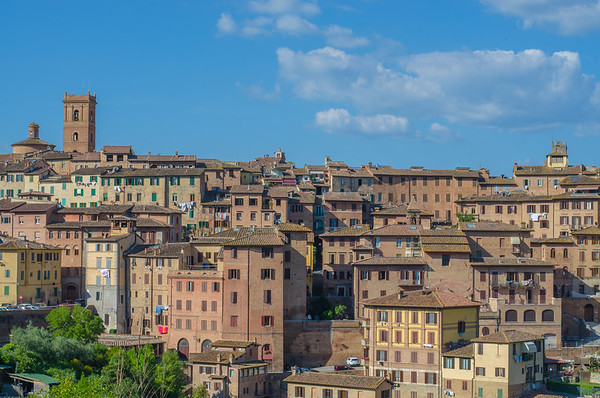 The old city of Siena