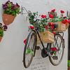 Hanging bicycle, Alberobello