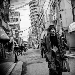 shin sekai - osaka - japan