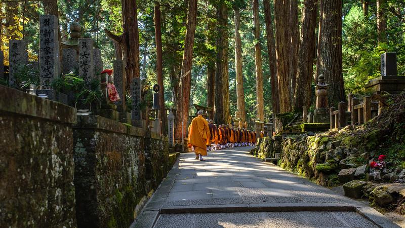 Koya-san monks