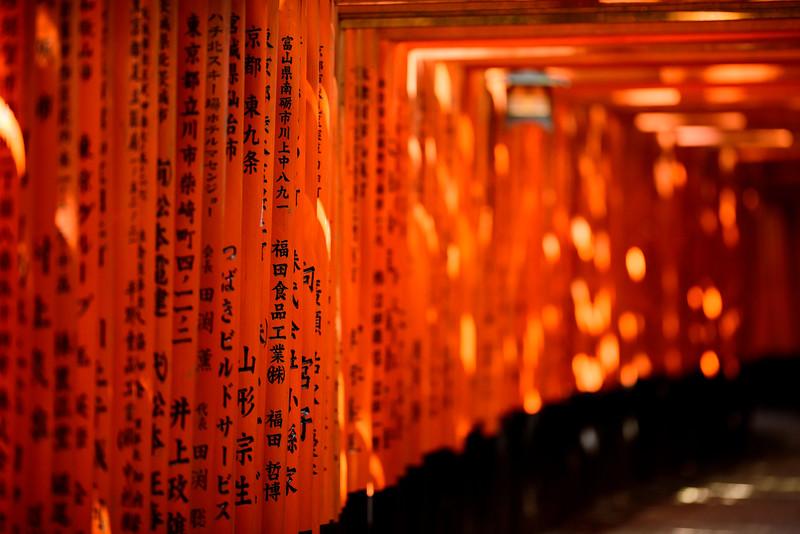 Fushimi Inari - between dream and reality