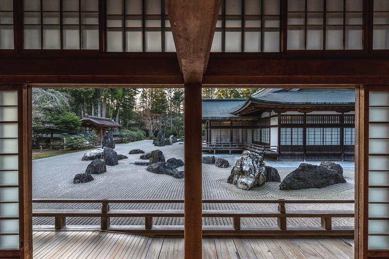 Kongobuji temple in Koya san