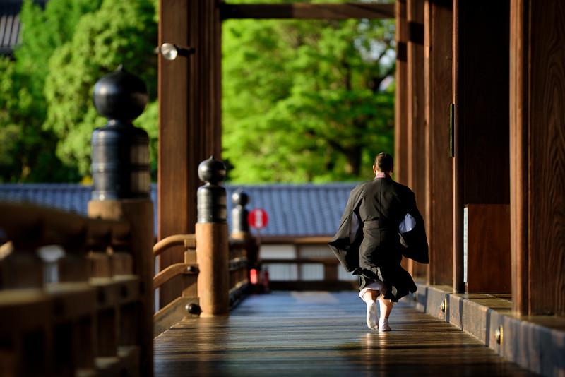Kyoto's Nishi Honganji temple