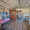 <b>Inside of Log Cabin </b>