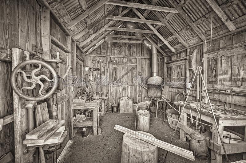 <b> The Blacksmith's Workshop </b>