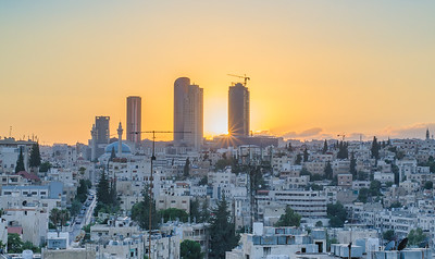 the best way to enjoy a sunset in Amman is on a rooftop