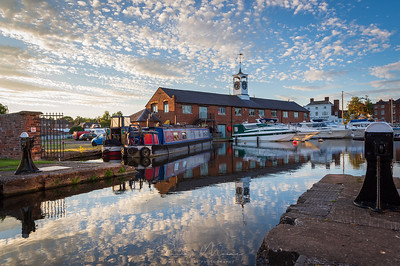 Reflections at the Upper Basin, Stourport-on Severn