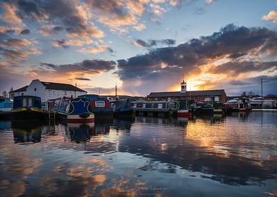 Cloudy Sunset, Stourport