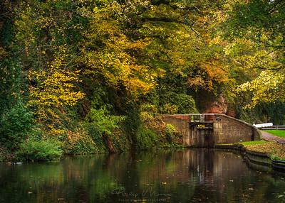 Caldwall Bridge and Lock, Kidderminster