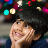 Rishab Kattimani in his own Christmas dreams during his visit to Houston, Texas