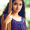 Ritika at Haveri for her summer vacation