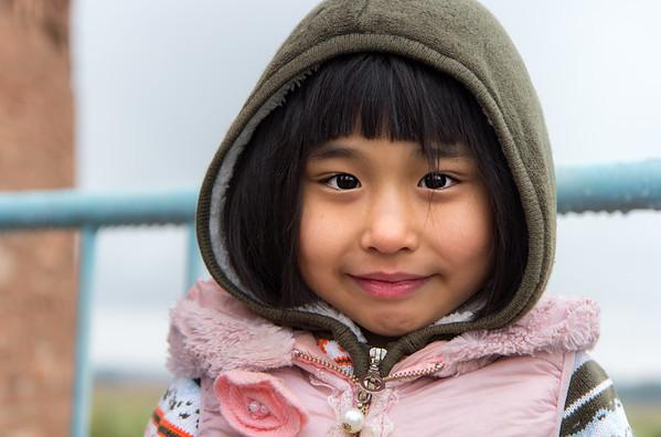 Kyrgyz smile