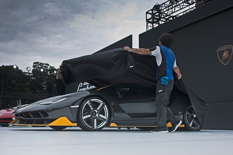 Representing just 1 of 40, the new Lamborghini Centenario is the latest vehicle in  Lamborghini's one-off strategy.