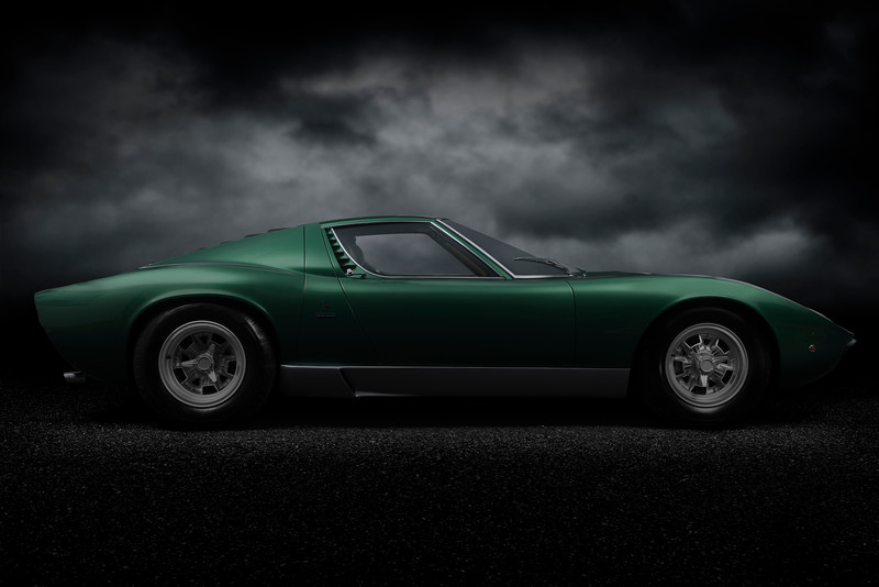 Factory Restored 1971 Lamborghini Miura SV