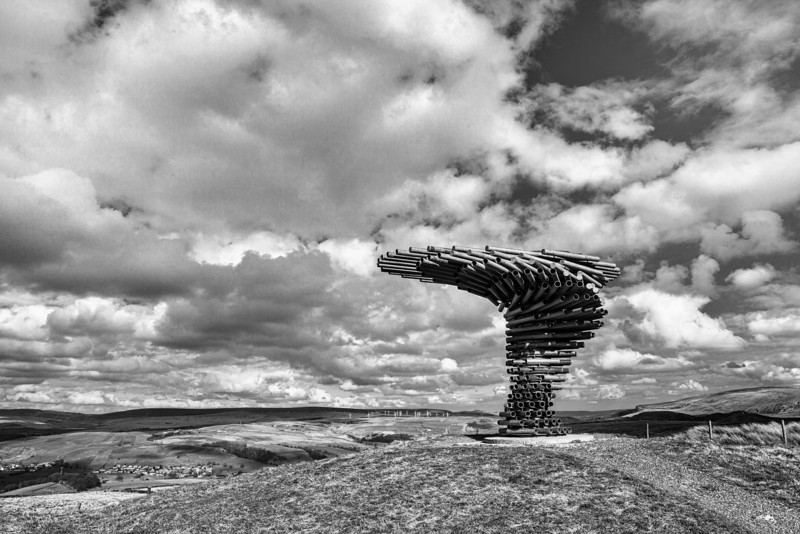 The Singing Tree Panopticon near Burnley, Lancashire.