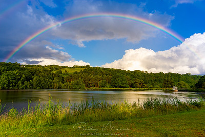 Rainbow over Trimpley