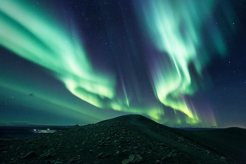 northern lights  night aurora borealis fotokunst mads peter iversen aarhus fotograf fine art landscape iceland myvatn nightscape vulcano crater hverfjall cliffs epic amazing beautiful best longexposure photography 2.jpg